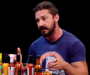 Shia LaBeouf vs. Hot Wings