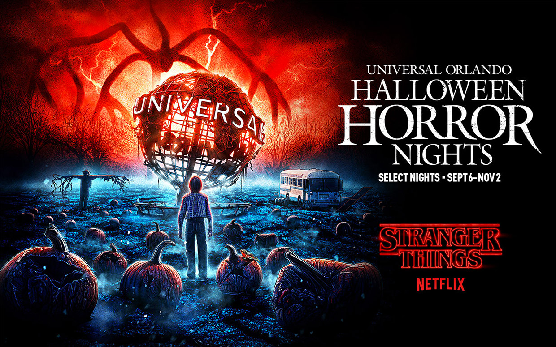 Universal Studios x Stranger Things