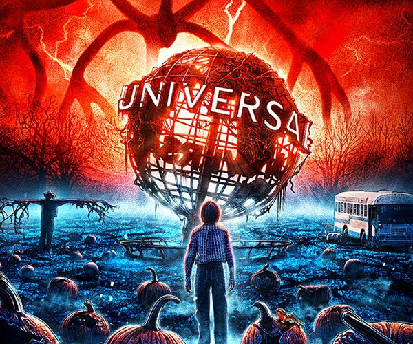 Universal Studios x Stranger Things