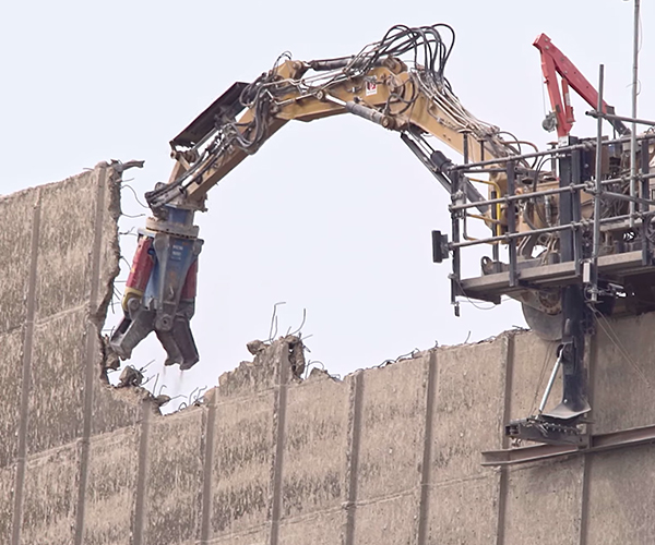 Top-down Demolition