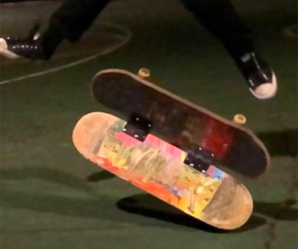 Transforming Skateboard Tricks