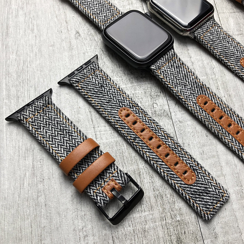 Tweed Apple Watch Straps