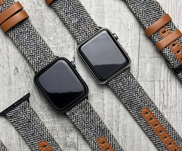 Tweed Apple Watch Straps