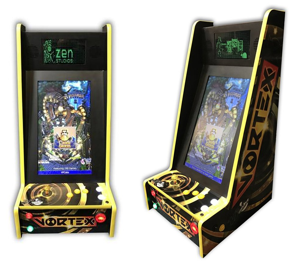 VPCabs Upright Pinball Machines