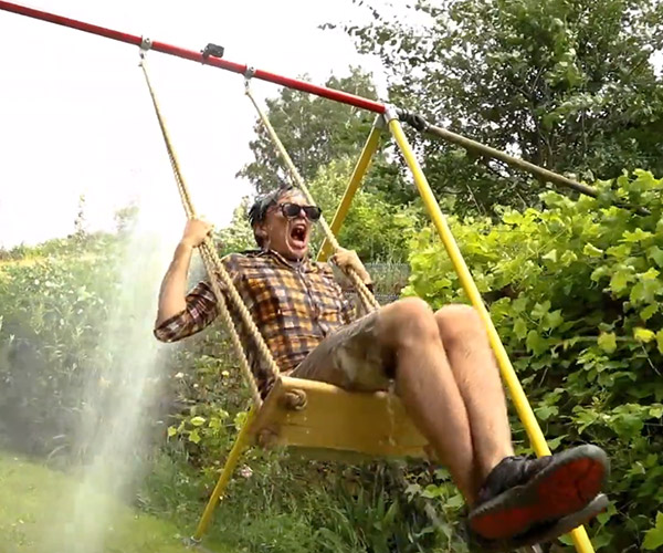 Waterfall Soaker Swing