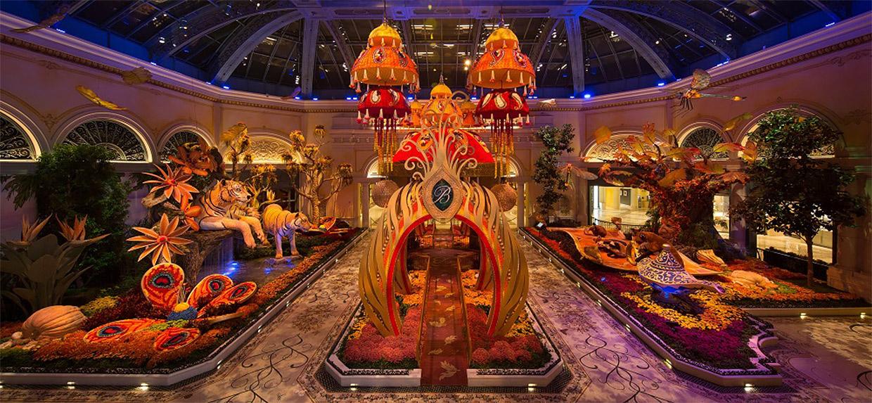 Bellagio Indian Summer Display