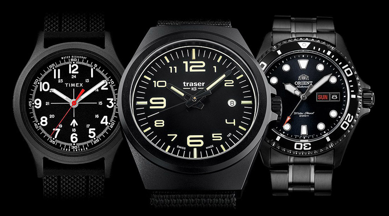 Best Black Men's Watches 2019