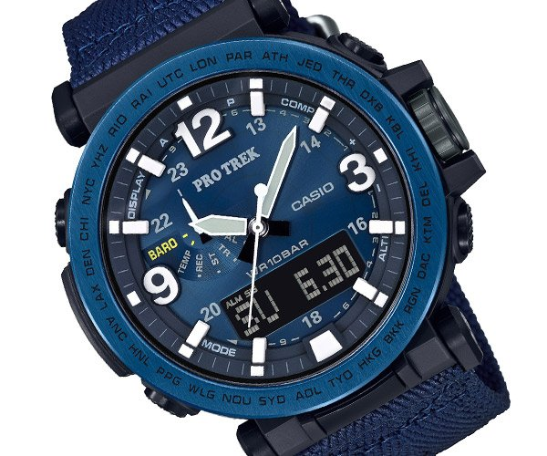 Casio PRO TREK Midnight Navy
