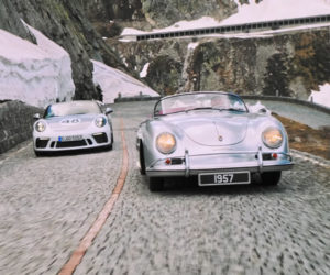 Chasing Cars at Gotthard Pass