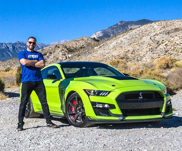 Driving the 2020 Mustang GT500