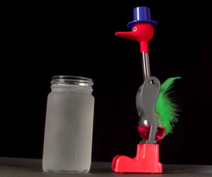 How a Drinking Bird Works