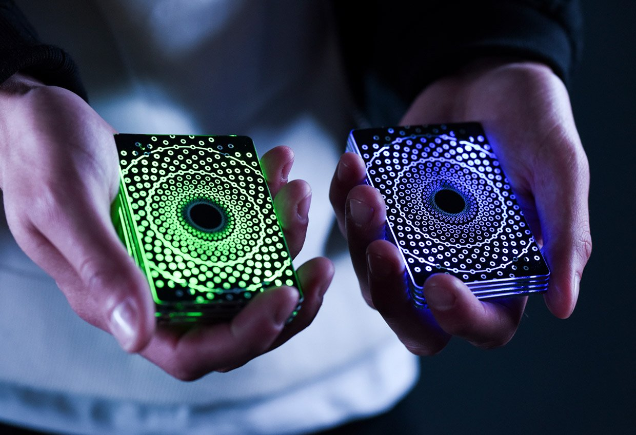 Fireflies LED Cardistry Cards