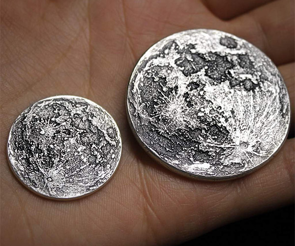Full Moon Silver Coins
