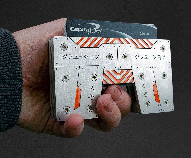 Fusion Wallet: Cyberpunk Edition