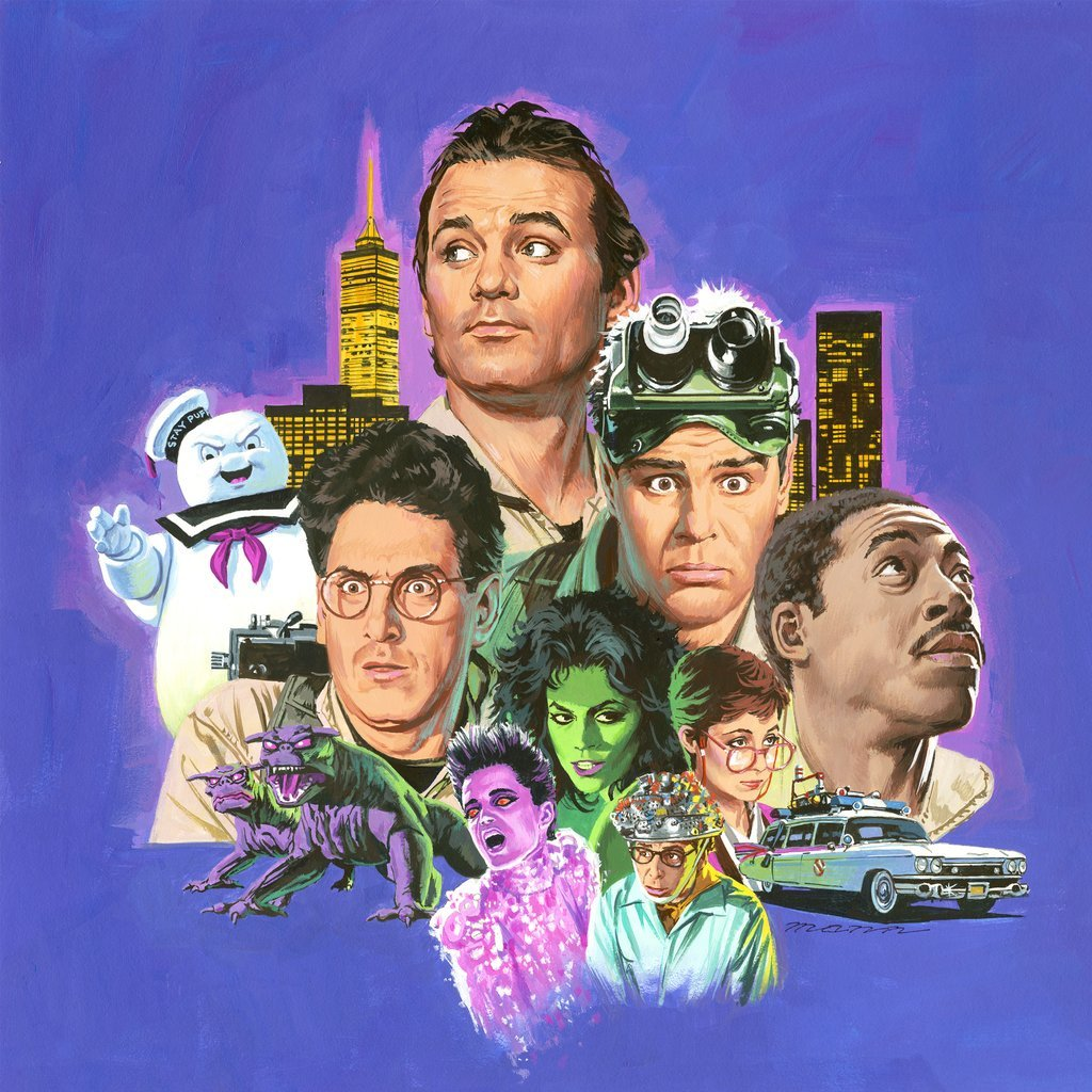 Ghostbusters x Mondo Soundtrack LP