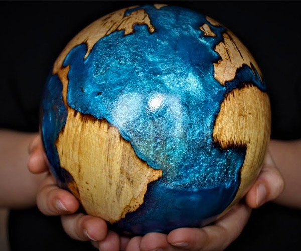 Making a Globe from a Log