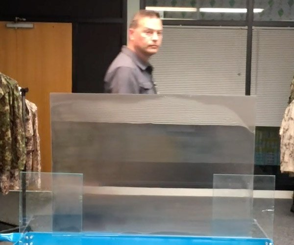 Quantum Stealth Invisibility Cloak