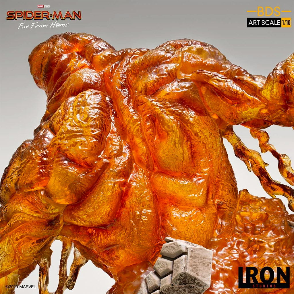 Spider-Man Molten Man Figure