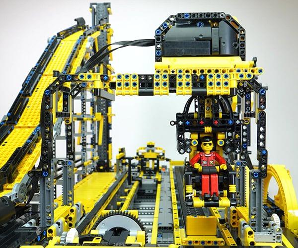 LEGO Technic Roller Coaster