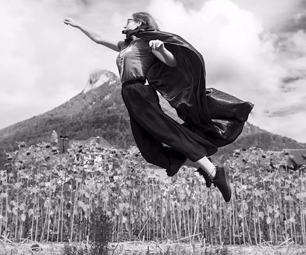 Levitating without Photoshop