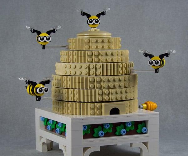 Mechanical LEGO Beehive