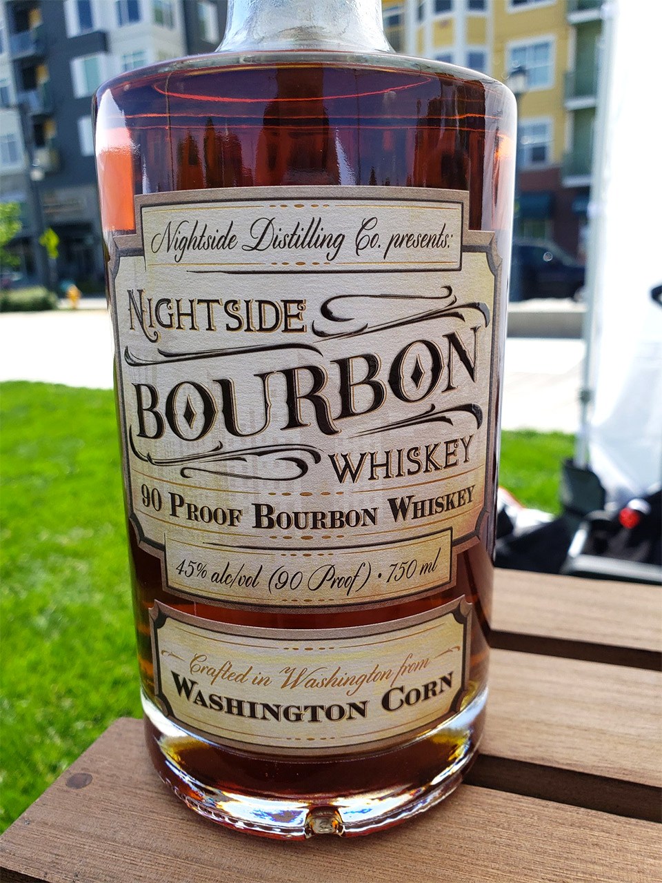 NIghtside Bourbon Whiskey