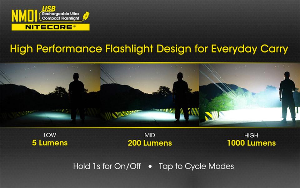 Nitecore NM01 Flashlight