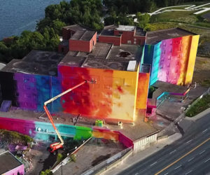 Painting Canada's Largest Mural