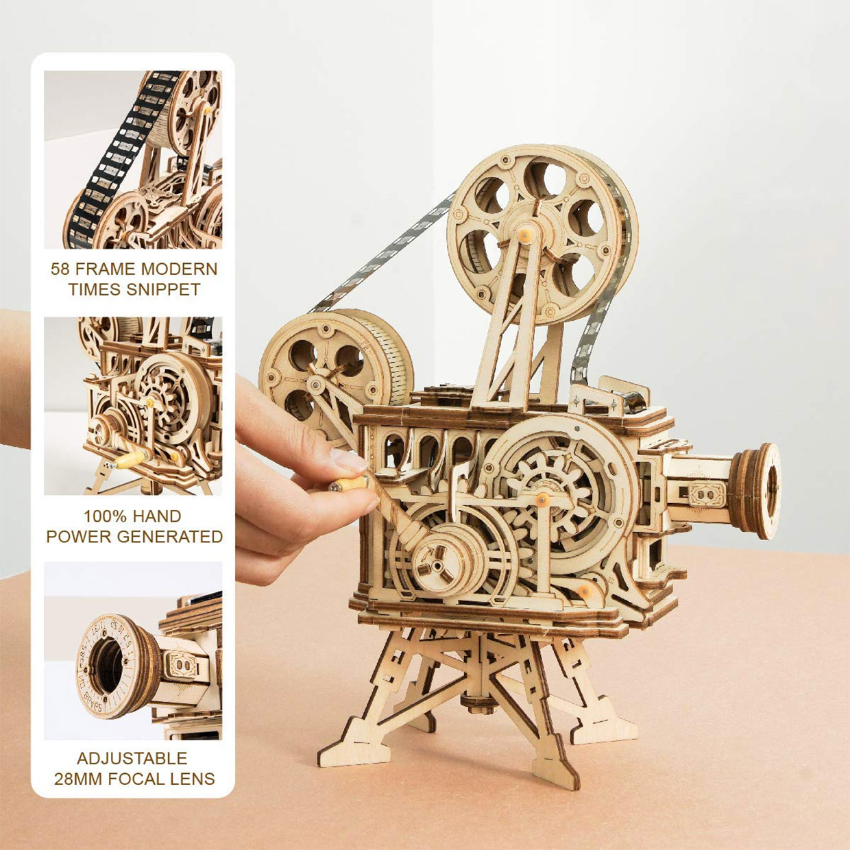 Vitascope Wood Projector Model