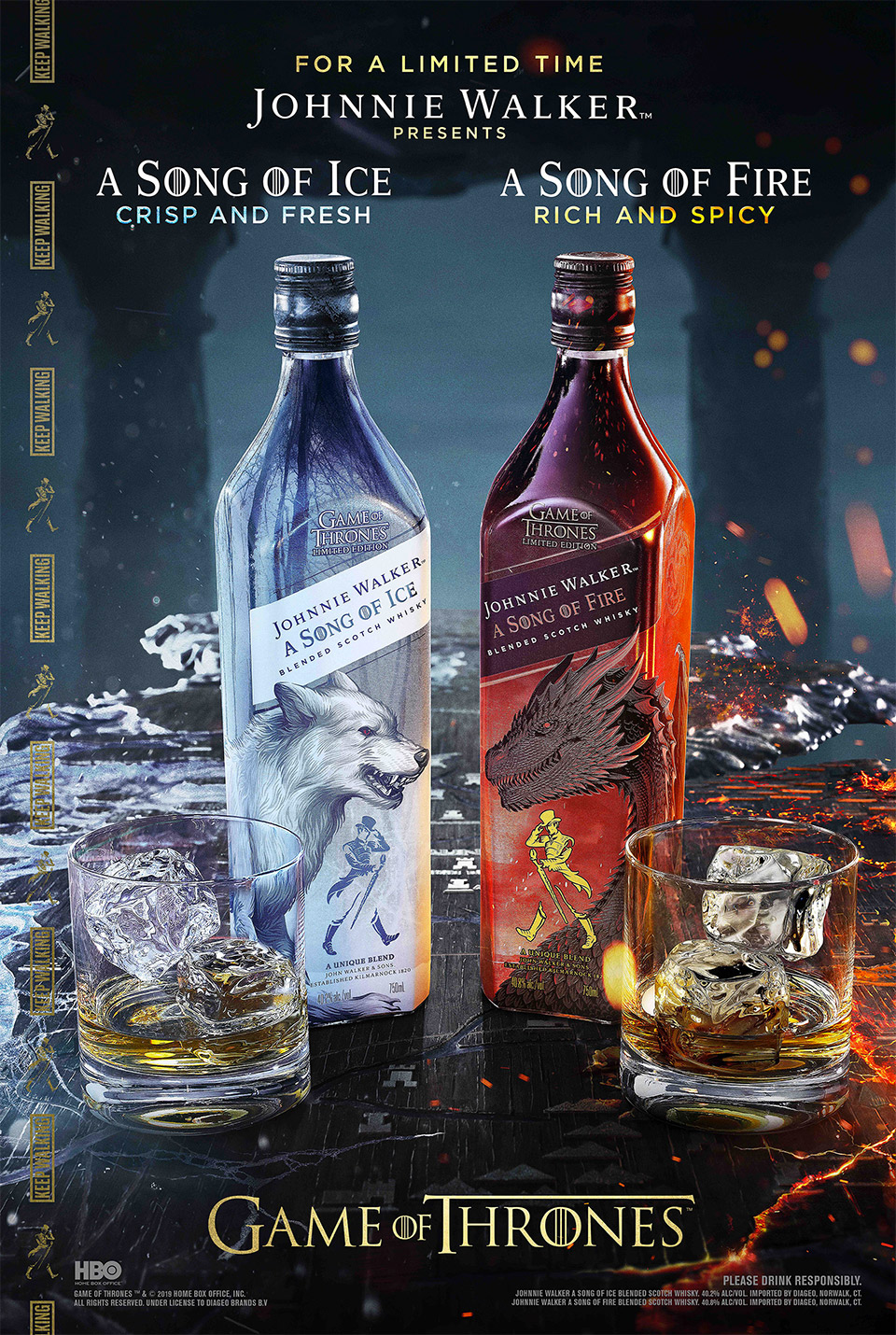 A Song of Ice and Fire Whiskeys