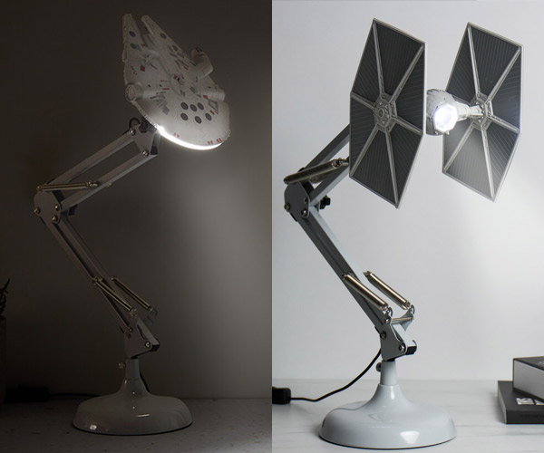 Star Wars Ship Desk Lamps
