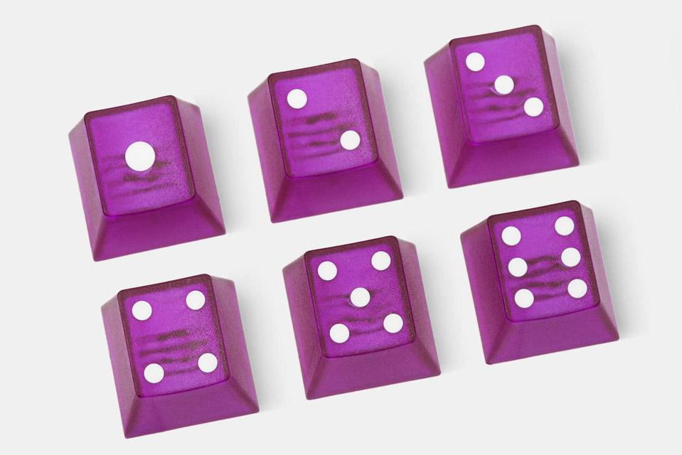 Tai-Hao Dice Keycaps
