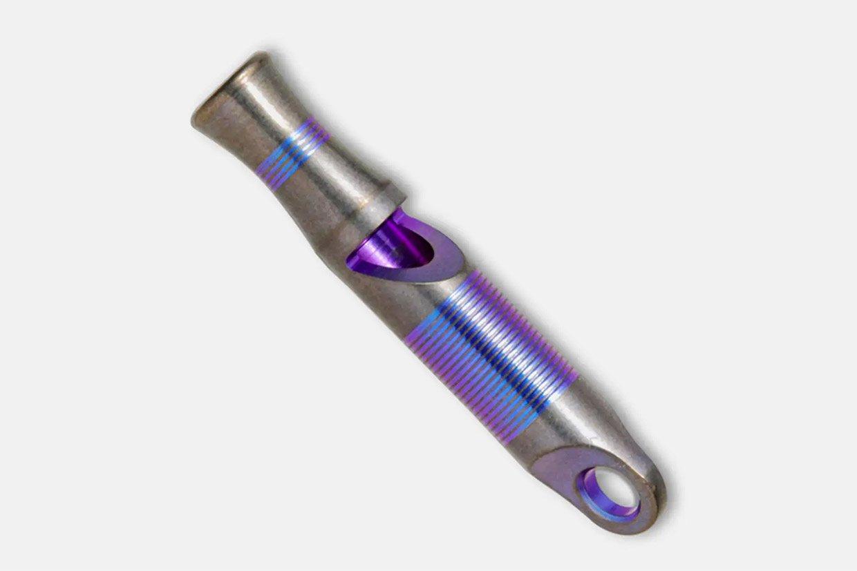 WE Titanium Whistle