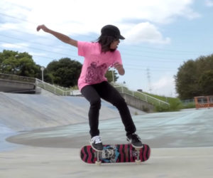 15 Year-old Skateboard Champ