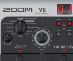 Zoom V6 Vocal Processor