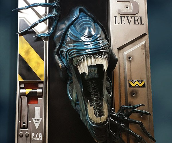 Alien Queen Wall Sculpture