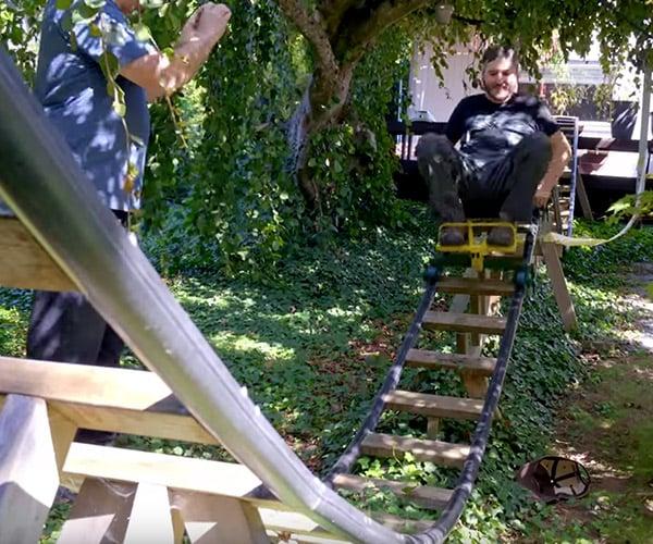 How to Build a Backyard Roller Coaster