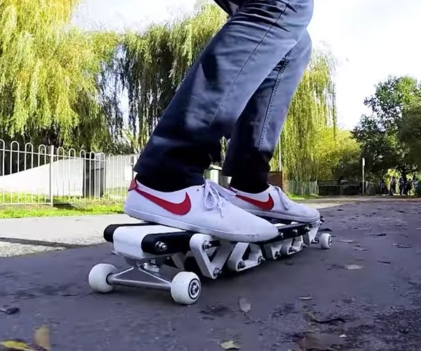 DIY Carbon Fiber Skateboard