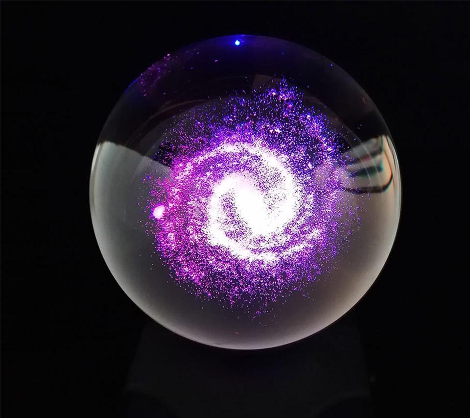 Illuminated Milky Way Orb