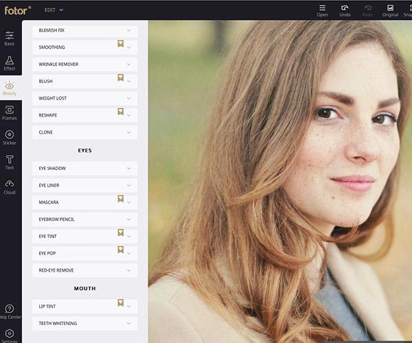 Fotor Online Pro Image Editor