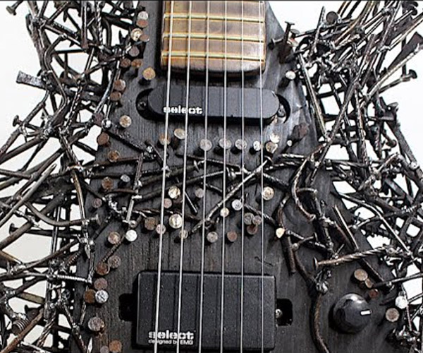 Making a Guitar from Nails