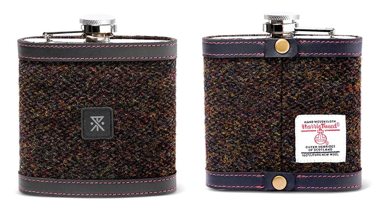 Harris Tweed Haver Flask