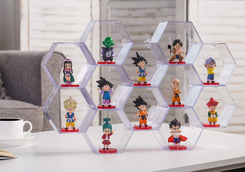 Hexagon Toy Displays