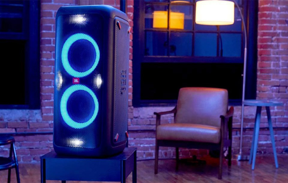 Kick out the Jams with the JBL PartyBox 300 Party Speaker