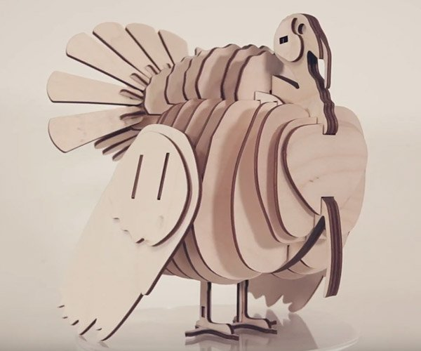 Laser Cut Turkey
