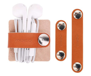 MoKo Leather Cable Organizers
