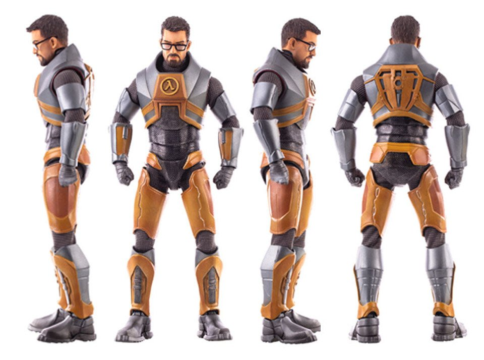Mondo Gordon Freeman Figure