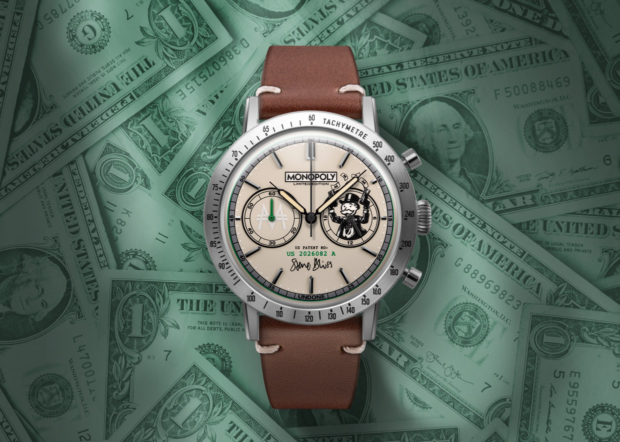 Moneyman Watch Giveaway