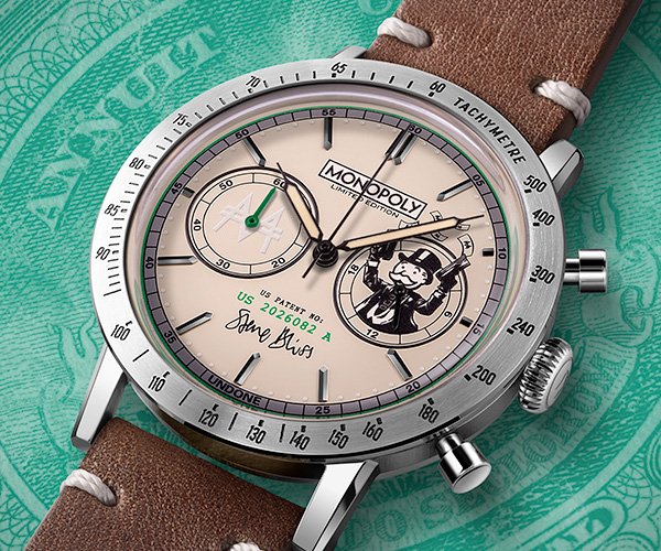 Monopoly Moneyman Watches
