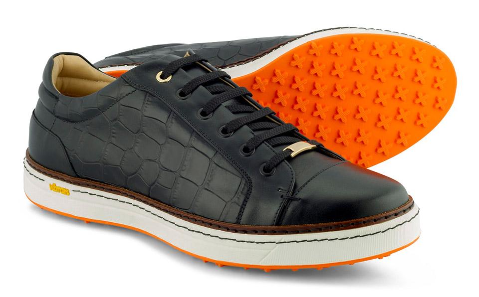 Royal Albartross Croco Golf Shoes